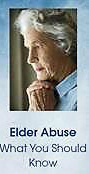 Elder Abuse What you should know
