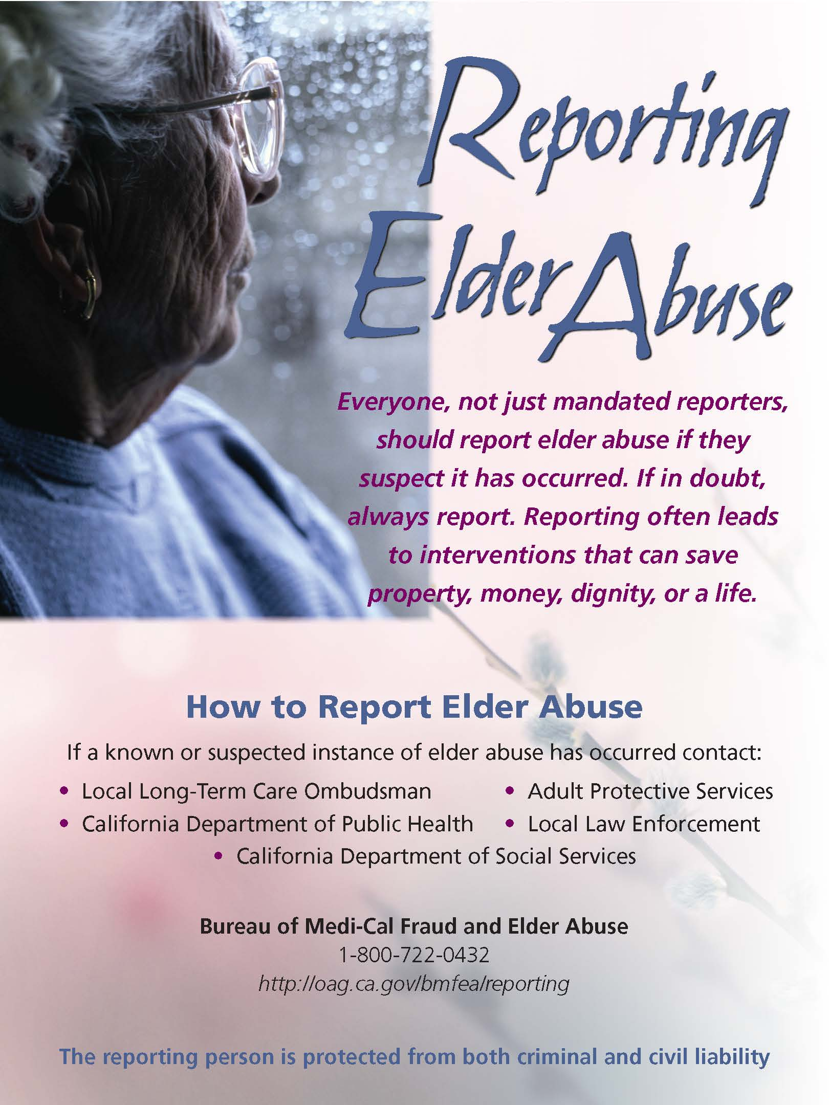 Elder Abuse - How to Report