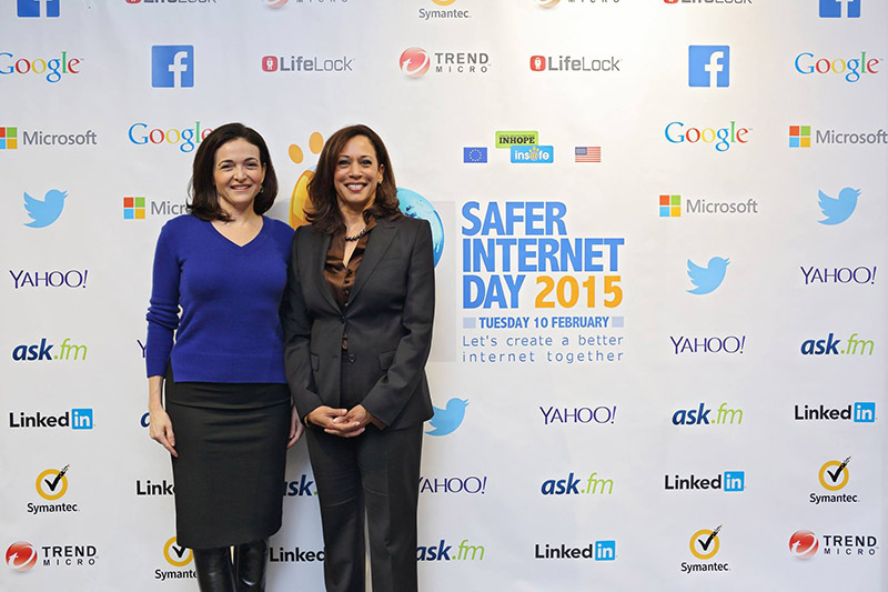 Attorney General Harris Addresses Safer Internet Day at Facebook