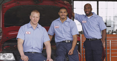 Image of small businessmen mechanics