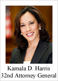 Kamala D. Harris, 32nd Attorney General