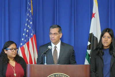 Attorney General Becerra Leads DACA Lawsuit Against Trump Administration