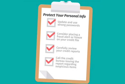 Protect Your Personal Info Video
