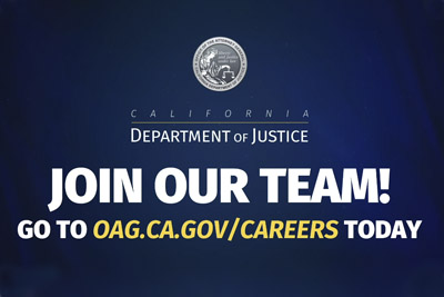 California Department of Justice Accomplishments Video