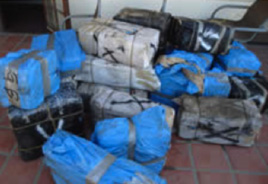 Figure 24: Illegal Drugs Seized From Panga Boat