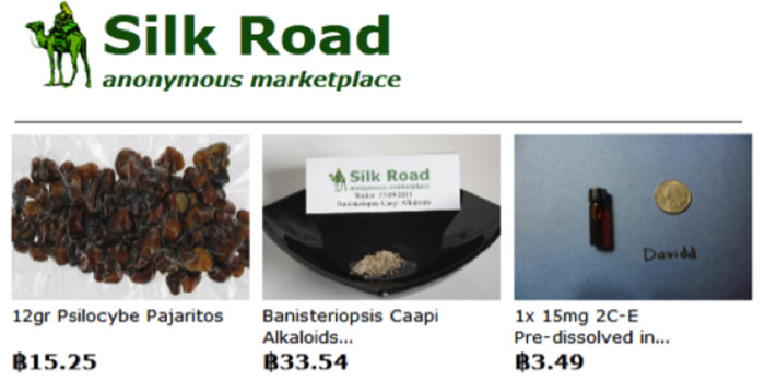 Figure 35: Screenshot of Illicit Drugs For Sale on Silk Road Website