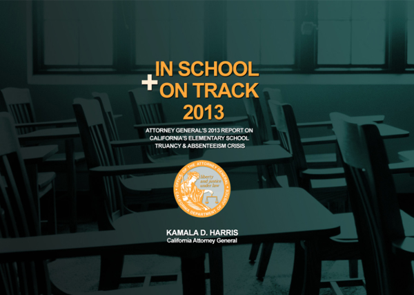 In School + On Track 2013 Cover