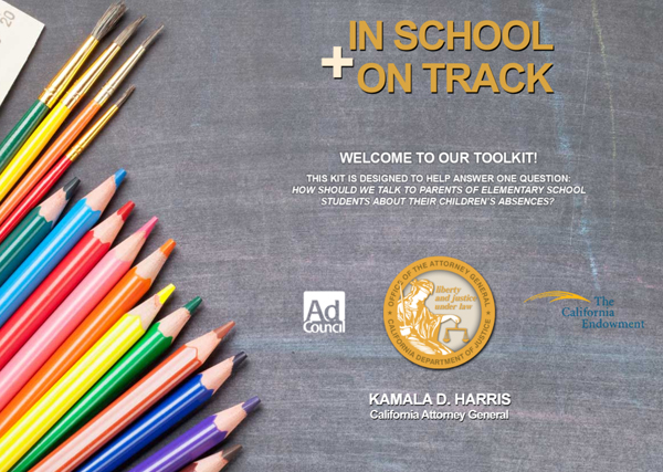 In School + On Track Toolkit Cover