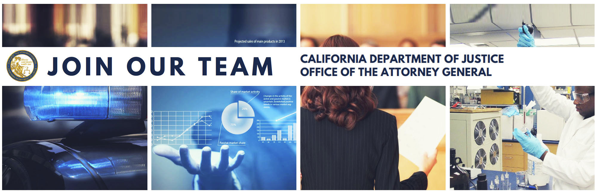 Join our team - California Department of Justice - Office of the Attorney General.